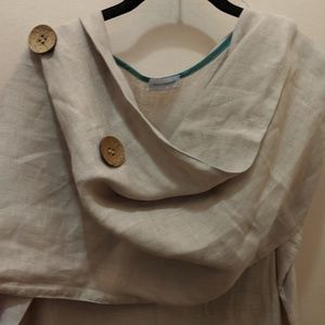 Fourth Daughter linen dress and shawl